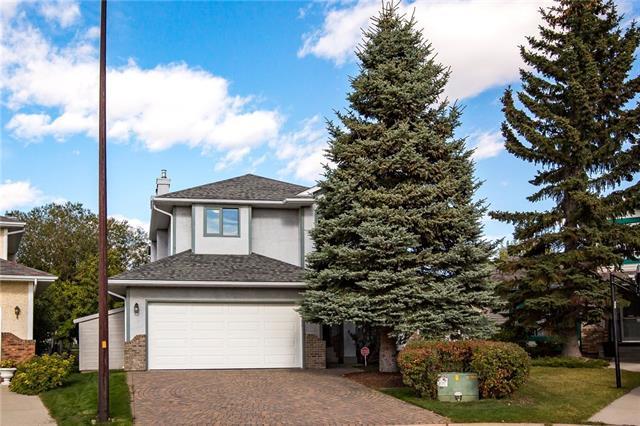 310 Hawktree Circle NW, Calgary, AB T3G 2Y6 (#C4208366) :: The Cliff Stevenson Group