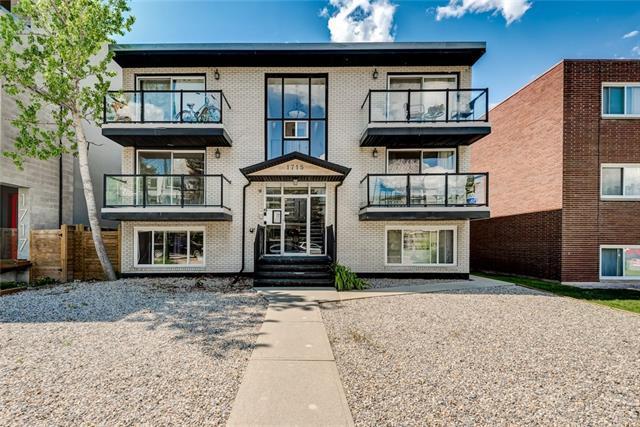 1715 13 Street SW #3, Calgary, AB T2T 3P5 (#C4208475) :: Canmore & Banff