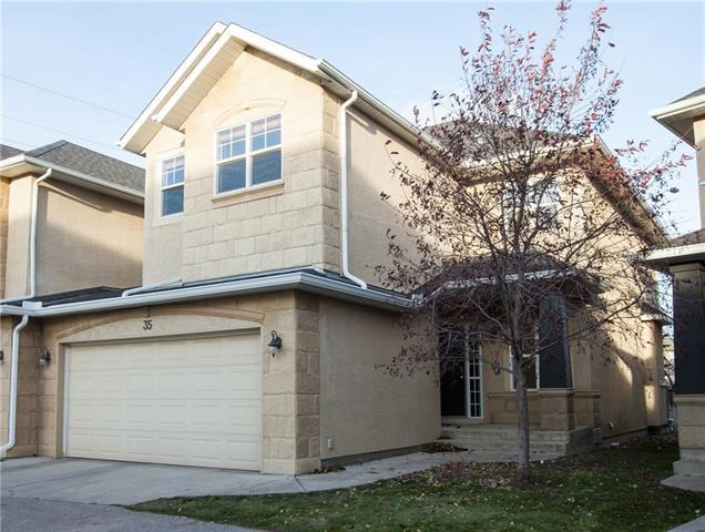 39 Strathlea Common SW #35, Calgary, AB T3H 5P8 (#C4208867) :: Tonkinson Real Estate Team