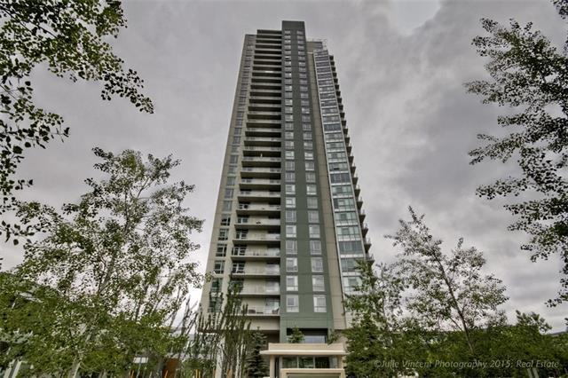 99 Spruce Place SW #402, Calgary, AB  (#C4209169) :: Calgary Homefinders