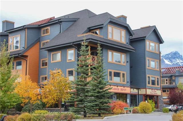 1120 Railway Avenue #207, Canmore, AB T1W 1P4 (#C4209246) :: Canmore & Banff