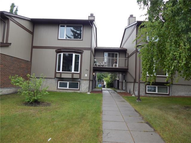 6103 Madigan Drive NE #36, Calgary, AB T1Y 4M4 (#C4209436) :: Your Calgary Real Estate