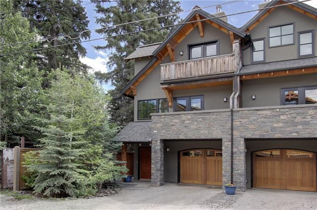 3rd Street #4, Canmore, AB T1W 2J7 (#C4209596) :: Canmore & Banff