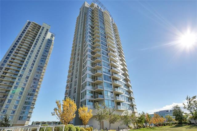 55 Spruce Place SW #1707, Calgary, AB T3C 3X5 (#C4209614) :: Calgary Homefinders