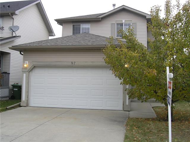 87 Springs Crescent SE, Airdrie, AB T4A 2C9 (#C4209907) :: Canmore & Banff