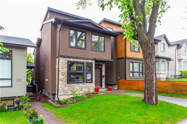 133 31 Avenue NW, Calgary, AB T2M 2P1 (#C4209961) :: Canmore & Banff