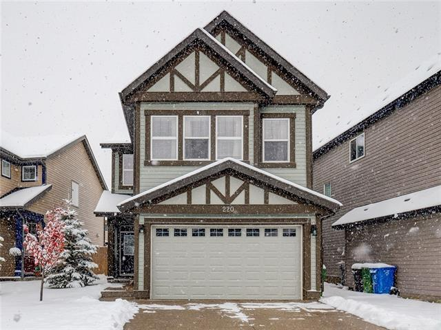 220 Walden Mews SE, Calgary, AB T2X 0S8 (#C4209997) :: Canmore & Banff