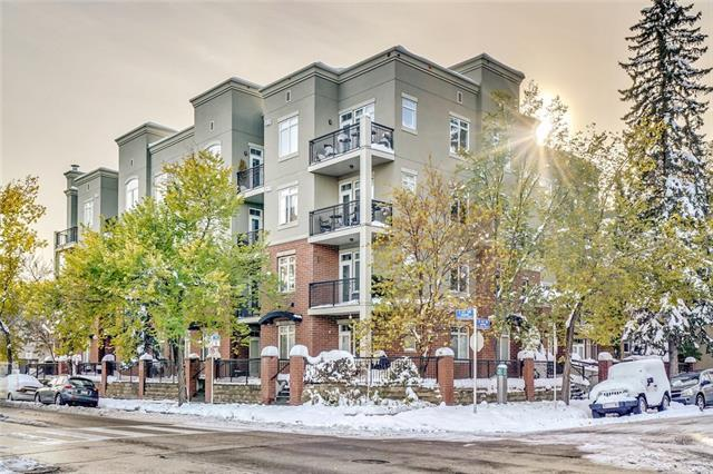 303 19 Avenue SW #304, Calgary, AB T2W 0E1 (#C4210053) :: Canmore & Banff