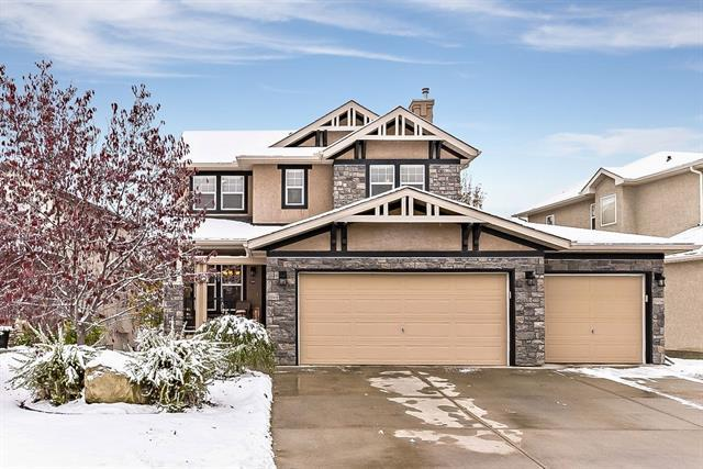 202 Crystal Shores Drive, Okotoks, AB T1S 2L1 (#C4210357) :: Your Calgary Real Estate