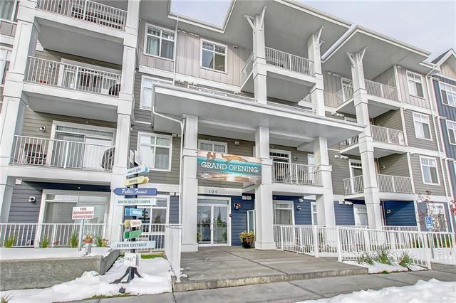 100 Auburn Meadows Common SE #313, Calgary, AB T3M 2M2 (#C4210439) :: Calgary Homefinders