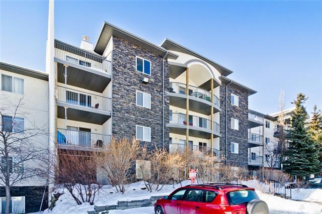 33 Arbour Grove Close NW #217, Calgary, AB  (#C4210619) :: Canmore & Banff