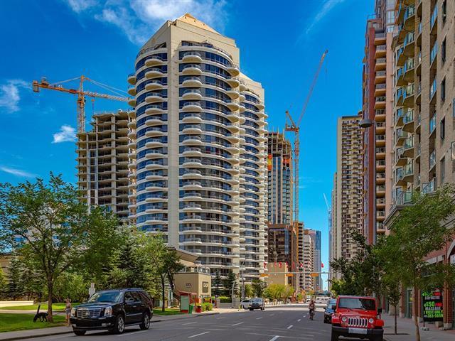 1088 6 Avenue SW #1505, Calgary, AB T2P 5N3 (#C4210760) :: The Cliff Stevenson Group