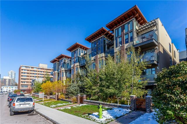 1720 10 Street SW #401, Calgary, AB T2T 3E8 (#C4210854) :: Canmore & Banff