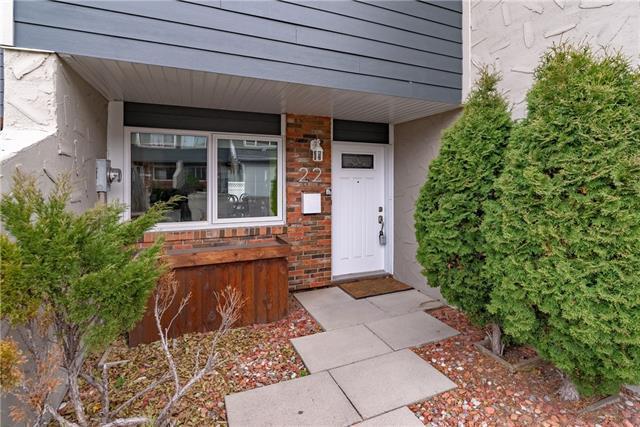228 Theodore Place NW #22, Calgary, AB T2K 5S1 (#C4210908) :: Calgary Homefinders