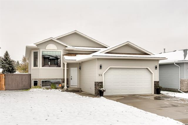 55 Collins Crescent, Crossfield, AB T0M 0S0 (#C4210939) :: Your Calgary Real Estate