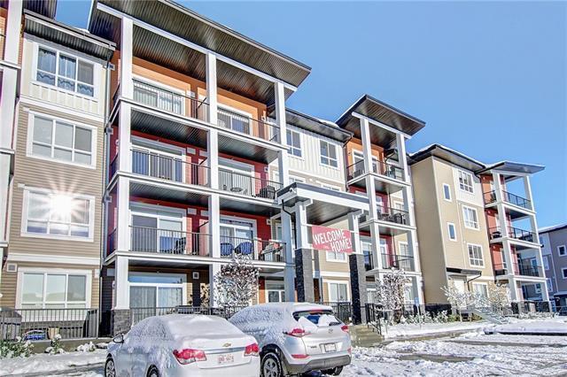 20 Walgrove Walk/Walkway SE #408, Calgary, AB T2X 4L2 (#C4210943) :: Canmore & Banff