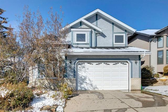 11 Hawkside Close NW, Calgary, AB T3G 3K3 (#C4210952) :: The Cliff Stevenson Group