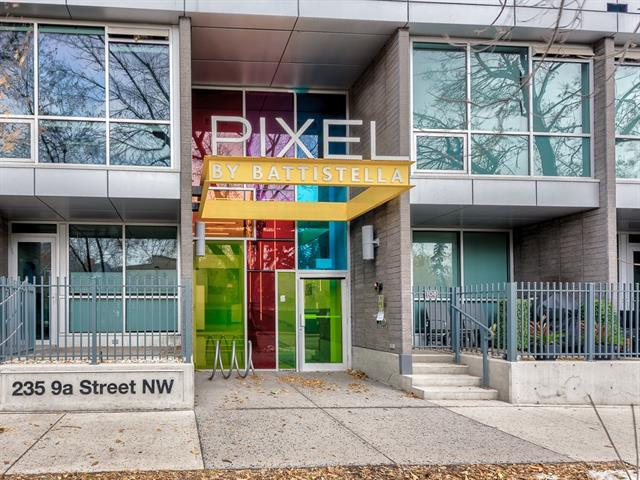235 9A Street NW #204, Calgary, AB T2N 4H7 (#C4210962) :: Canmore & Banff