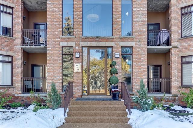 1407 Kensington Close NW #102, Calgary, AB T2M 3J6 (#C4211033) :: Your Calgary Real Estate