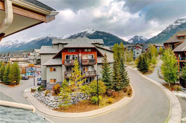 101 Montane Road #418, Canmore, AB T1W 0G2 (#C4211083) :: Tonkinson Real Estate Team