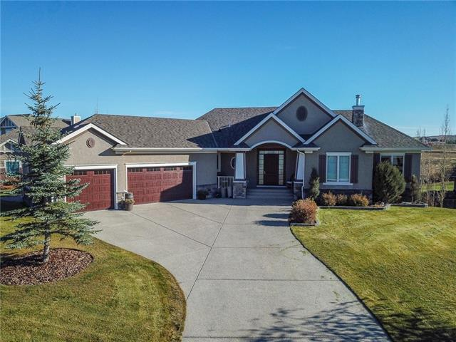 52 Montenaro Bay, Rural Rocky View County, AB T4C 0A5 (#C4211370) :: The Cliff Stevenson Group