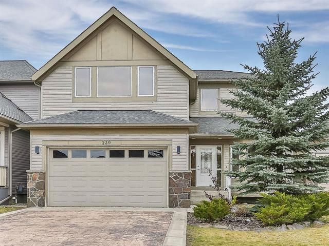239 Crawford Place, Cochrane, AB T4C 2G8 (#C4211380) :: Your Calgary Real Estate