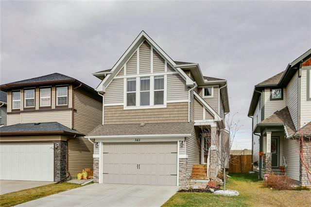 343 Hillcrest Circle SW, Airdrie, AB T4B 4B2 (#C4213895) :: Calgary Homefinders