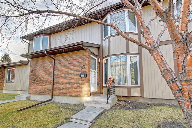 6103 Madigan Drive NE #93, Calgary, AB T2A 5K9 (#C4213913) :: Your Calgary Real Estate