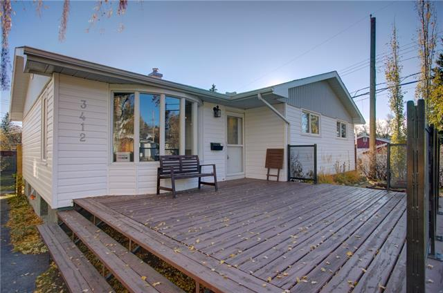 3412 23 Street NW, Calgary, AB T2L 0T9 (#C4213972) :: Canmore & Banff