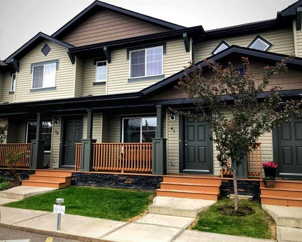 105 Drake Landing Common #41, Okotoks, AB T1S 0L9 (#C4214055) :: Tonkinson Real Estate Team