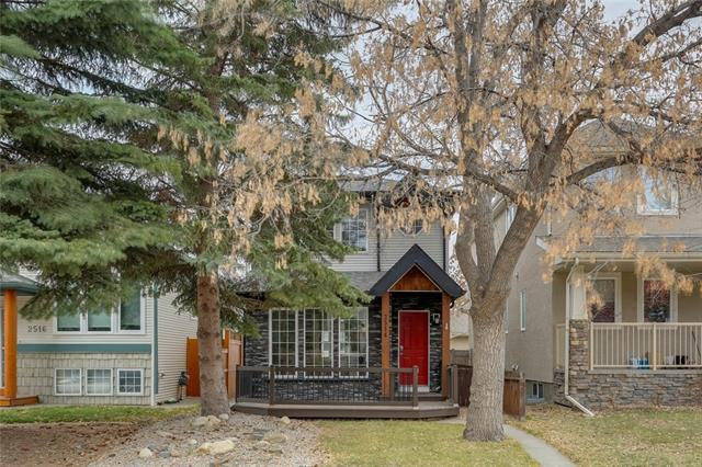 2514 17A Street NW, Calgary, AB T2M 3S6 (#C4214135) :: Canmore & Banff
