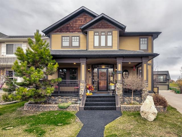 1172 Channelside Drive SW, Airdrie, AB T4B 3J2 (#C4214143) :: Tonkinson Real Estate Team