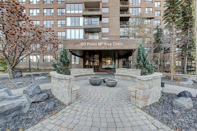80 Point Mckay Crescent NW #801, Calgary, AB T3B 4W4 (#C4214149) :: Tonkinson Real Estate Team