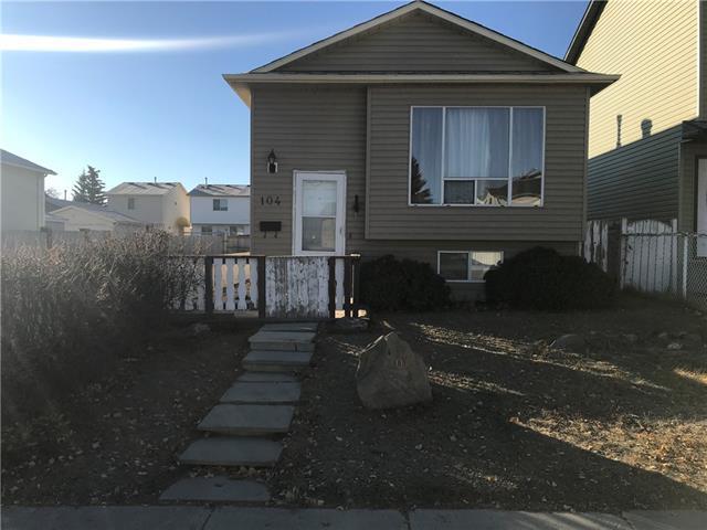 104 Martinbrook Road NE, Calgary, AB  (#C4214331) :: Tonkinson Real Estate Team