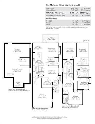 613 Midtown Place SW, Airdrie, AB T4B 4E3 (#C4214425) :: Tonkinson Real Estate Team