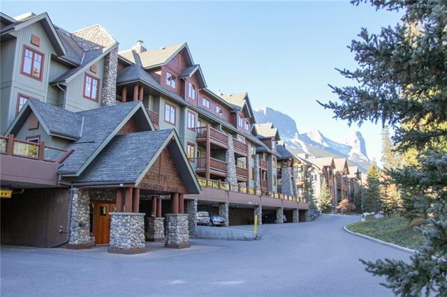 170 Crossbow Place #311, Canmore, AB T1W 3H4 (#C4214462) :: Calgary Homefinders