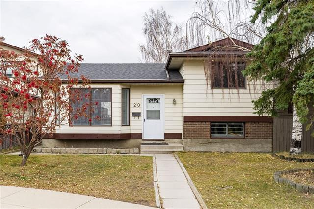 20 Bermuda Court NW, Calgary, AB T3K 1H3 (#C4214518) :: Tonkinson Real Estate Team