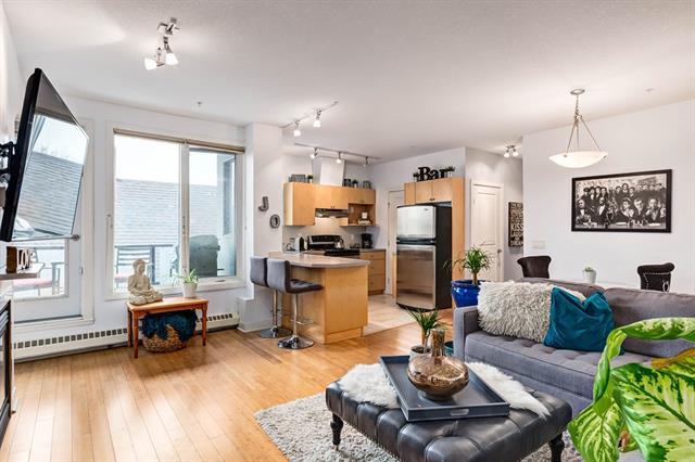 328 21 Avenue SW #301, Calgary, AB T2S 0G8 (#C4214530) :: Tonkinson Real Estate Team