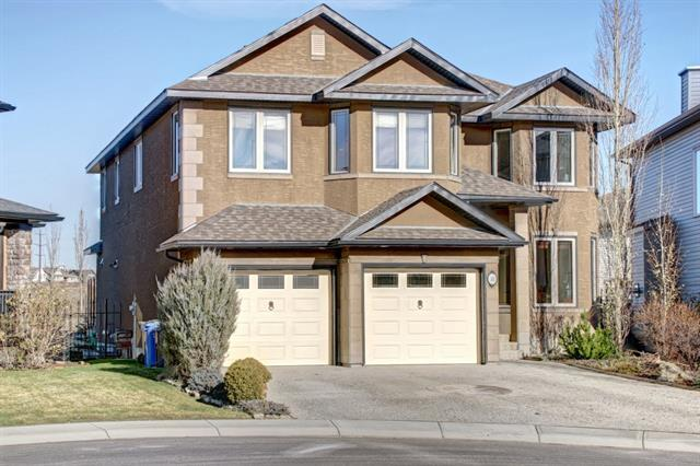 10 West Pointe Manor, Cochrane, AB T4C 0C1 (#C4214593) :: The Cliff Stevenson Group