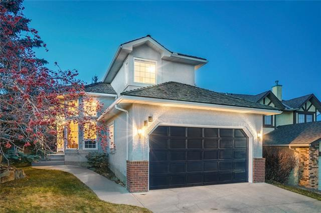 12 Sienna Hills Court SW, Calgary, AB T3H 2W3 (#C4214897) :: Tonkinson Real Estate Team