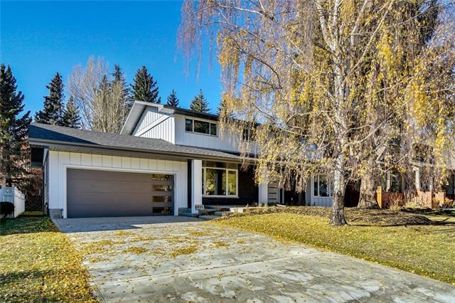 6925 Leaside Drive SW, Calgary, AB T3E 6H6 (#C4214905) :: Tonkinson Real Estate Team