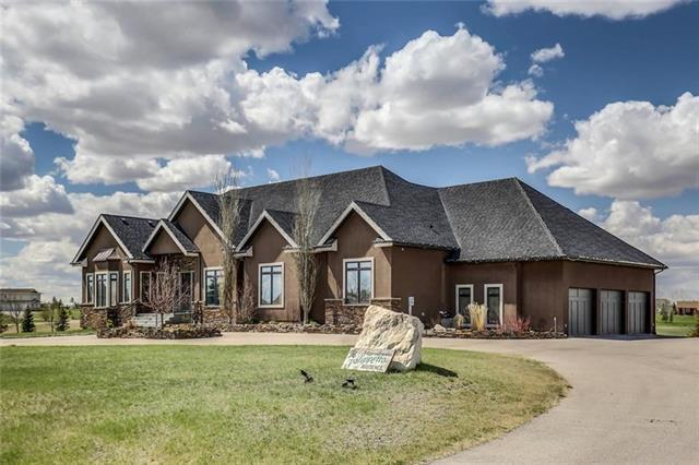 3 Stage Coach Meadow, Rural Rocky View County, AB T4A 0P2 (#C4215080) :: Calgary Homefinders