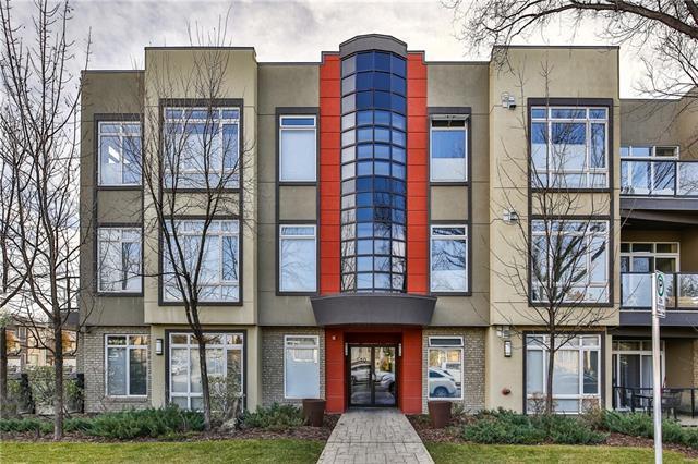 540 34 Street NW #108, Calgary, AB T2N 2X7 (#C4215160) :: Calgary Homefinders
