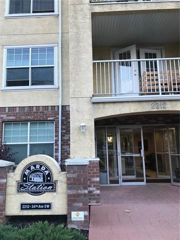 2212 34 Avenue SW #404, Calgary, AB T2T 2C6 (#C4215202) :: Tonkinson Real Estate Team