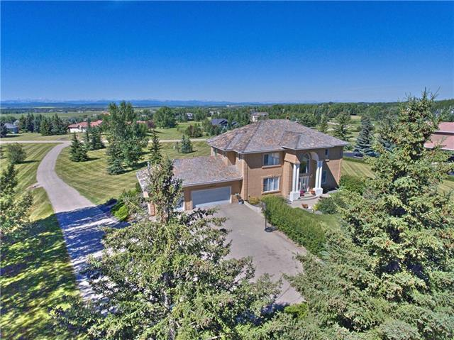 50 Rosewood Drive SW, Rural Rocky View County, AB T3Z 3K7 (#C4215205) :: Calgary Homefinders