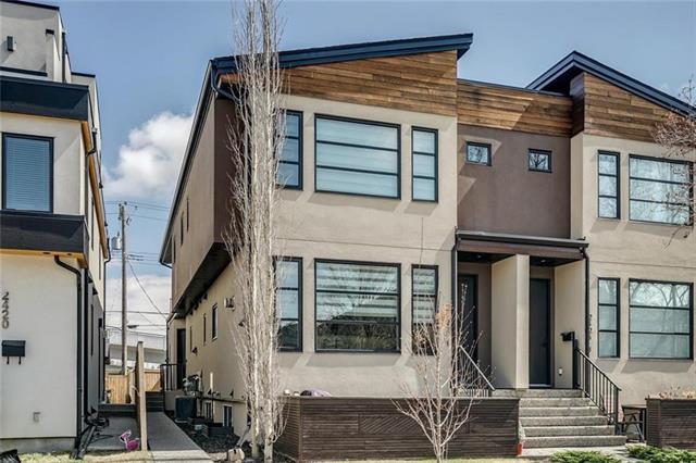 2422 24A Street SW #2, Calgary, AB T3E 1W1 (#C4215332) :: Tonkinson Real Estate Team