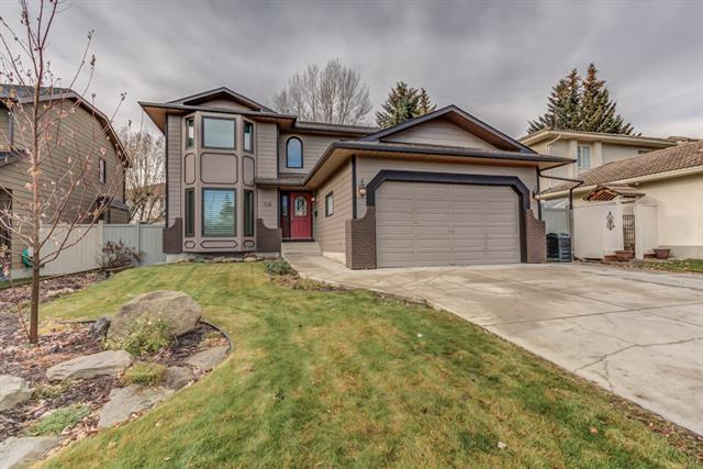 118 Sunset Way SE, Calgary, AB T2X 3B9 (#C4215365) :: Twin Lane Real Estate