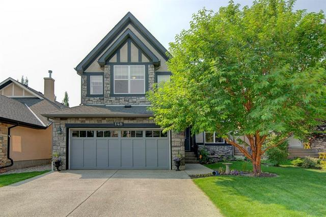 148 Wentworth Crescent SW, Calgary, AB T3H 5V1 (#C4215547) :: Your Calgary Real Estate