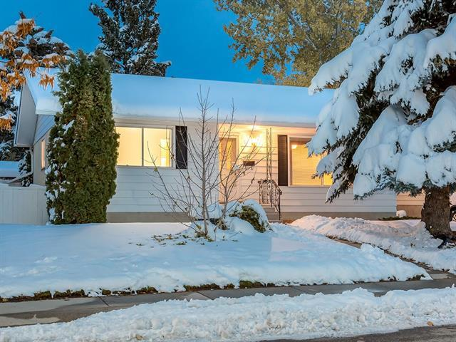 7816 10 Street NW, Calgary, AB T2K 1H6 (#C4215658) :: Canmore & Banff