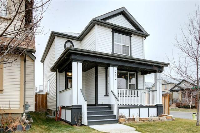 202 Copperstone Grove SE, Calgary, AB T2Z 4X7 (#C4215704) :: Tonkinson Real Estate Team